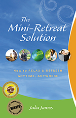 stress-relief with Mini-Retreats